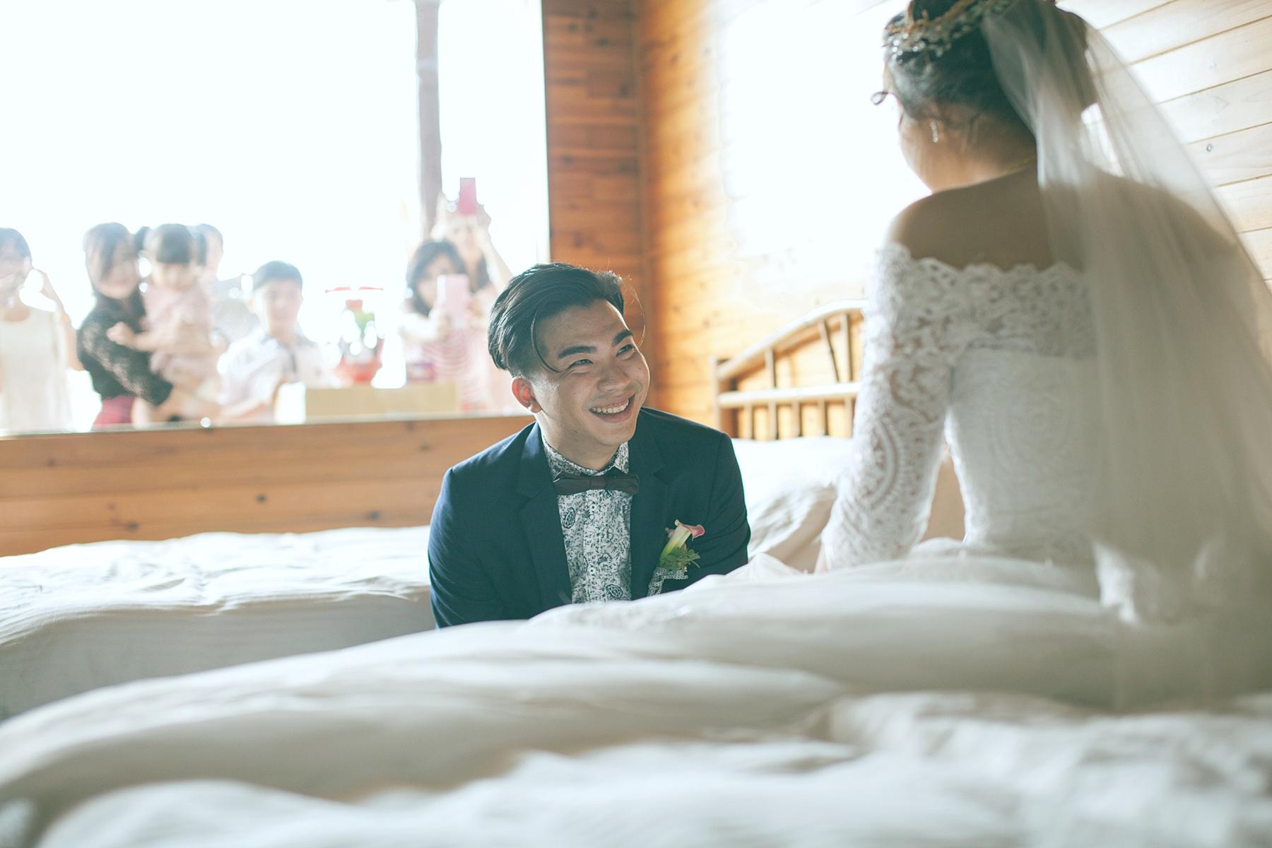 【婚禮攝影 高雄】懷毅 & 于珊 | 山水炎民宿 底片風格